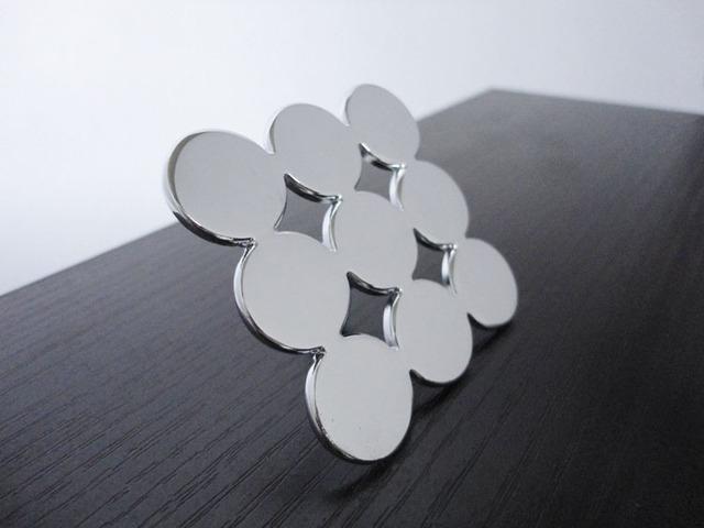 New Modern Design kitchen door handle drawer pulls chrome(Size:45mm*45mm)