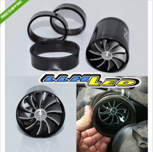 BLACK DUAL FAN TURBONATOR FOR SUPERCHARGER/TURBO/COLD AIR INTAKE HOSE F1-Z(China (Mainland))