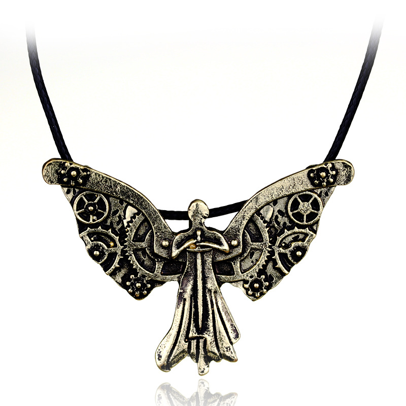 Sunshine Movie Film Jewelry The Mortal Instruments: City of Bones Hell Clockwork Angel Necklace The Infernal Devices Tessa(China (Mainland))