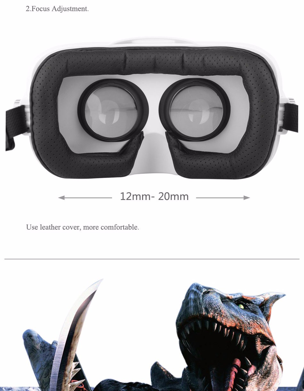 ถูก BOBOVR Z4 Mini VRแว่นตาที่มีOculosภายนอก3Dที่สมจริงแว่นตาเสมือนจริงกับHiFiหูฟังมินิรุ่นBOBO VR Z4
