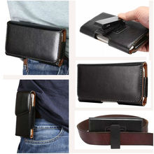 Buy 5-5.2 inch Belt Clip Holster 360 Rotatio PU Leather pouch Case cover for HOMTOM HT5 5 inch Universal Business Men Bags for $5.87 in AliExpress store