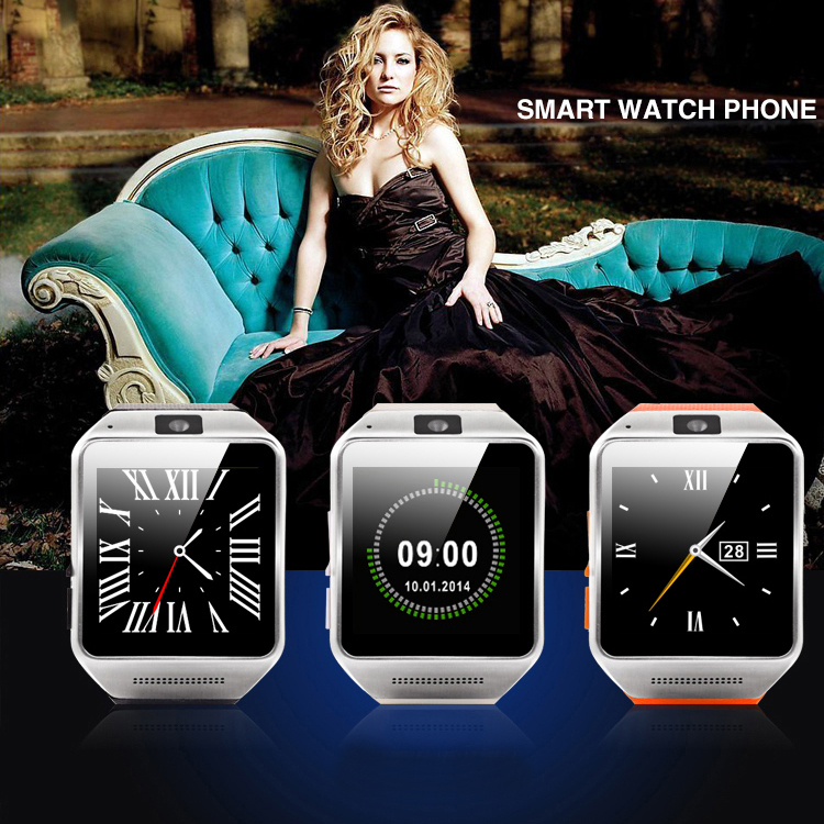 Gv08 Smart Watch support SIM support TF card up to 32G Bluetooth 3.0 mp3 mp4 player anti-lost calculator calendar compass(China (Mainland))