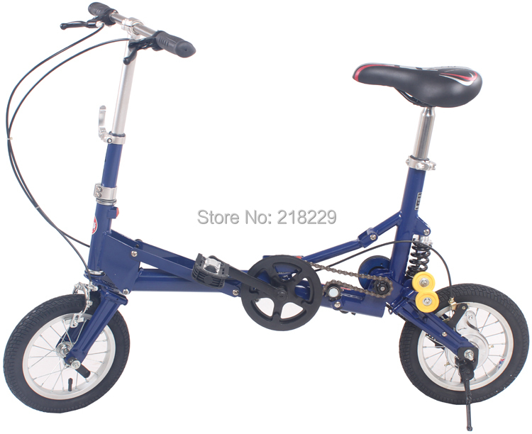 To USA Canad North American Free 12 inch smallest folding bike folding bicycle very special gift