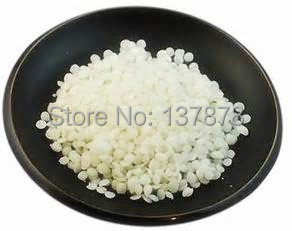 cosmetic use 100% natural pure white beeswax pellet 500g/pack(China (Mainland))