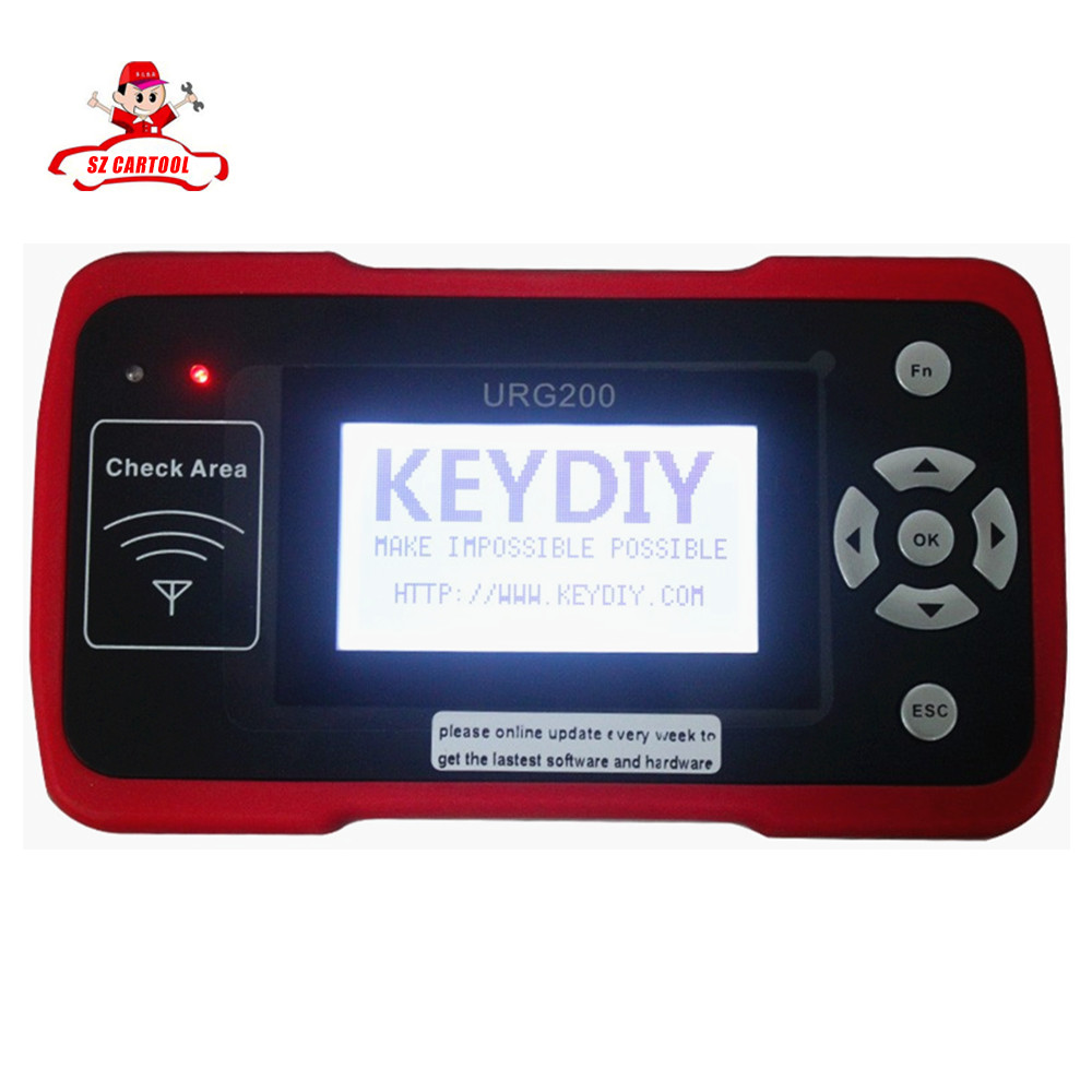 Newest KEYDIY URG200 Remote Master Auto key programmer feature replacement kd900 with free shipping(China (Mainland))