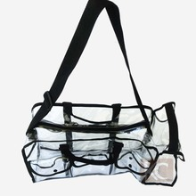 Freeshipping 2014 new fashion design transparent travel makeup bag pvc finished beauty cosmetic organizer case