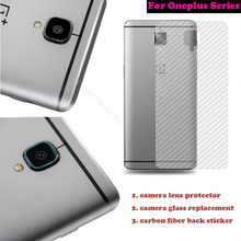 Oneplus 3/3T One Plus 3/2/Two/X Camera Glass Lens Replacement Tempered Back Cover Protection Rear Sticker Accessories - TD mobuy wishes trading store