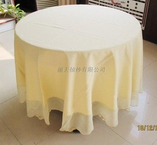 "100%POLY 90"" round tablecloths, 215cm ROUND FOR PARTY ,WEDING.5 piece one bag!(China (Mainland))"