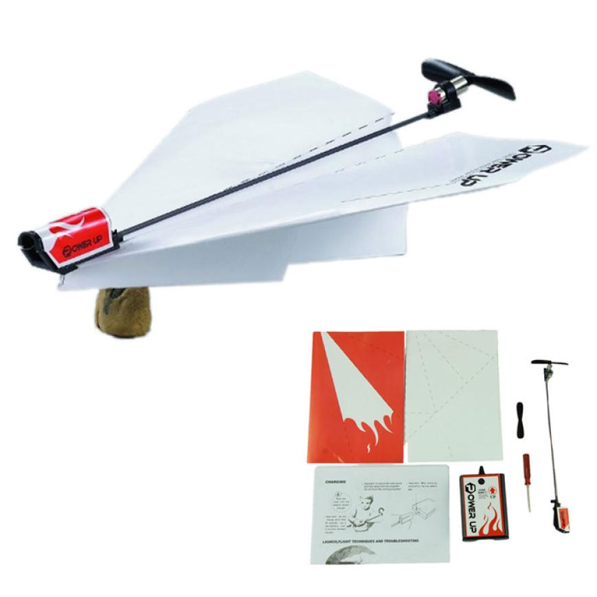 Power up electric paper plane airplane conversion kit fashion educational toys children toy kids toys Brain tease airplane toy(China (Mainland))