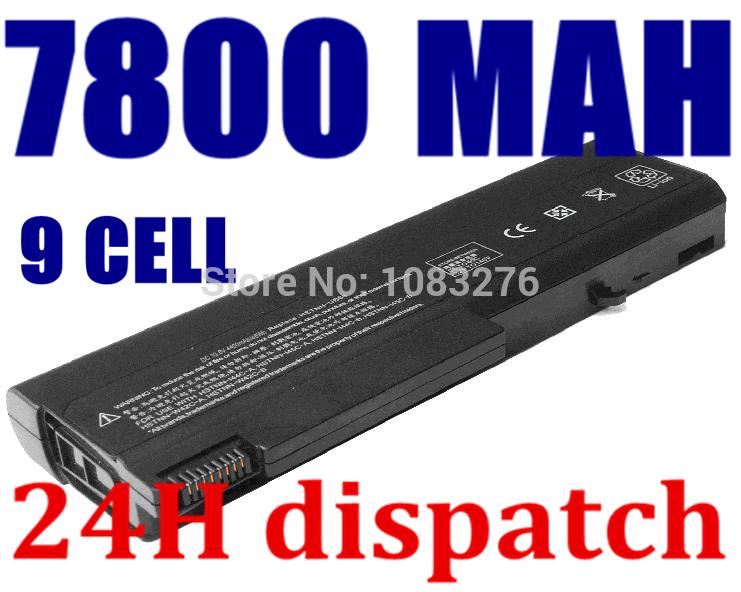 7800mAh battery for Hp Business Notebook 6530b 6535b 6730b 6735b 482962-001 484786-001 AU213AA HSTNN-UB69 HSTNN-XB24 HSTNN-XB59(China (Mainland))