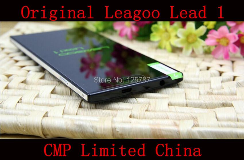Original Leagoo Lead 1 Mobile Phone MTK6582 Quad Core Android 4.4 5.5 Inch IPS 1280X720 1GB RAM 8GB ROM 13.0MP 3G GPS(China (Mainland))