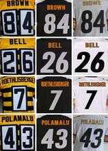 7 Ben Roethlisberger 43 Troy Polamalu 50 Ryan Shazier 84 Antonio Brown 36 Jerome Bettis 26 Le'Veon Bell(China (Mainland))