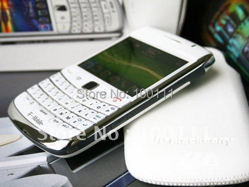 FREE SHIPPING + 2 pcs/lot 100% Original blackberry bold 9700 mobile phone ( unlocked )(Hong Kong)