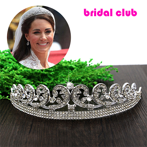 Top quality Luxury Classic Bride European Rhinestone crystal Bridal Hair Crown Tiara wedding dress accessories(China (Mainland))