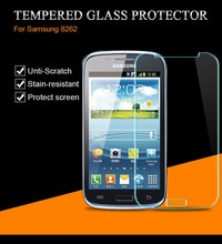 Buy Front Tempered Glass Samsung Galaxy Core gt i8262 Duos i8260 GT-i8260 8260 8262 Screen Protector Clear Transparent Film for $1.15 in AliExpress store