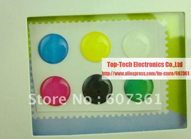 Home button sticker for Apple iPhone 4 3GS, For iPad iPad2, For iPod Touch