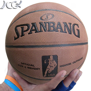 Basketball 74 - 233 thickening strengthen slip-resistant cowhide genuine leather