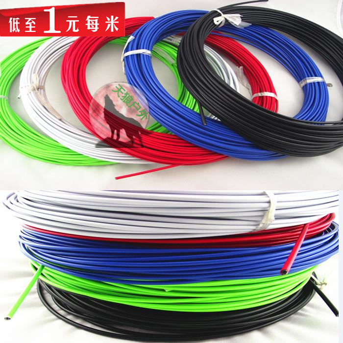 Road Bike/MTB Jagwire bicycles brake cable line/gear shift bike brake cable sets,black/white/green/blue/yellow/orange/red color(China (Mainland))