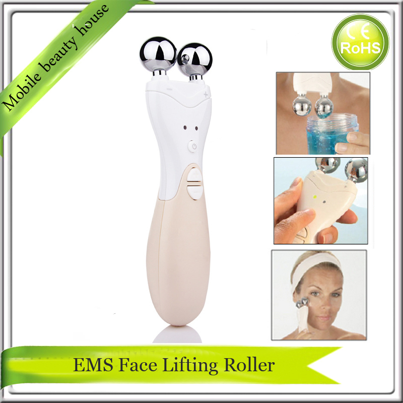 Instantly Ageless Face Lift EMS Micocurrent Face Roller Massager For Skin Tightening Nourishing Facial Rejuvenation<br>