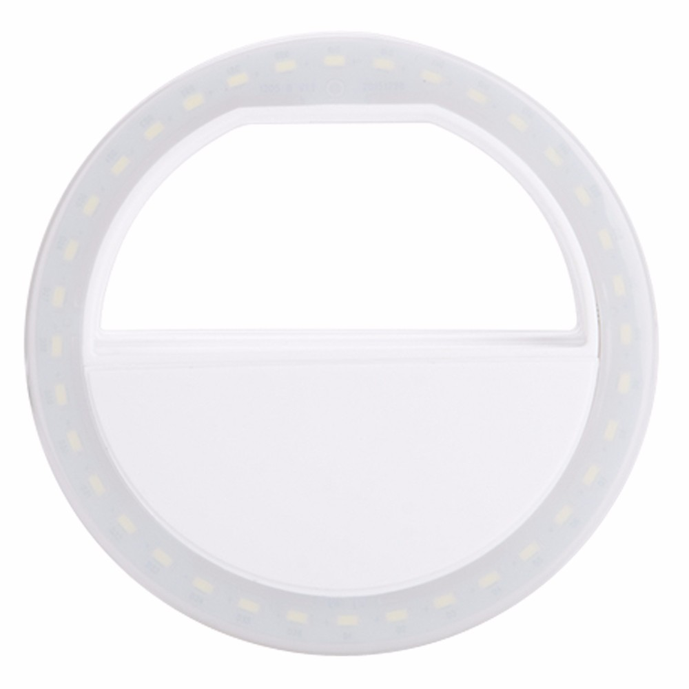Smart LED Selfie Ring Cover For iPhone 5s 6S Plus LG Samsung S7 Android Mobile Phone Flash Enhancing Light Beauty Luminous Case