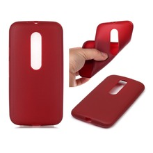 Anti-skid Soft Silicone for Motorola Moto G3 G 3rd Gen XT1541 XT1542 XT1543 Ultra Slim Soft TPU Case Mobile Phone Cover