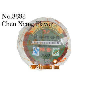 Promotion! 8683 Yunnan Old Orange Puer Puerh Pu'er tea Ripe Tea Original Health Tea Beauty Loss Of Weight Free Shipping