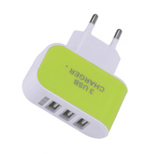 Buy 3 USB Wall Charger Adapter EU Standard Plug Charging Adapter Dual Travel Charger iPhone 5 5s 6 6s Huawei Xiaomi Samsung for $1.39 in AliExpress store