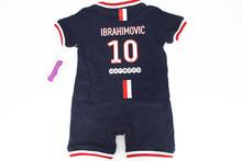 Free Shipment Baby Zlatan Ibrahimovic 10 Sport football onesie font b Romper b font soccer cute