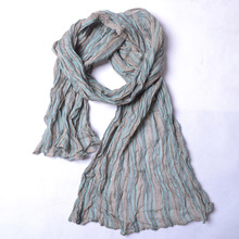 Color Patchwork Stripe Woman Cotton Scarves Classical Tartan Scarf Sunscreen Shawls New
