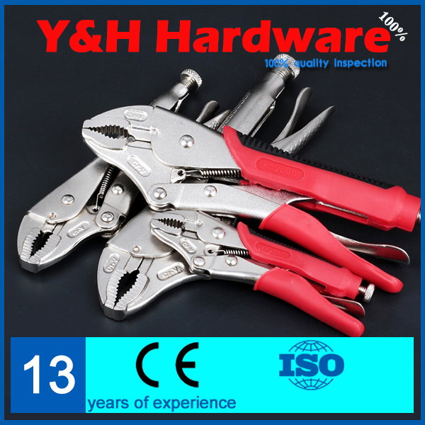 New 7'' Pro Straight Jaw Locking Mole Plier Vise/Vice Grips Pliers Welding Tool(China (Mainland))