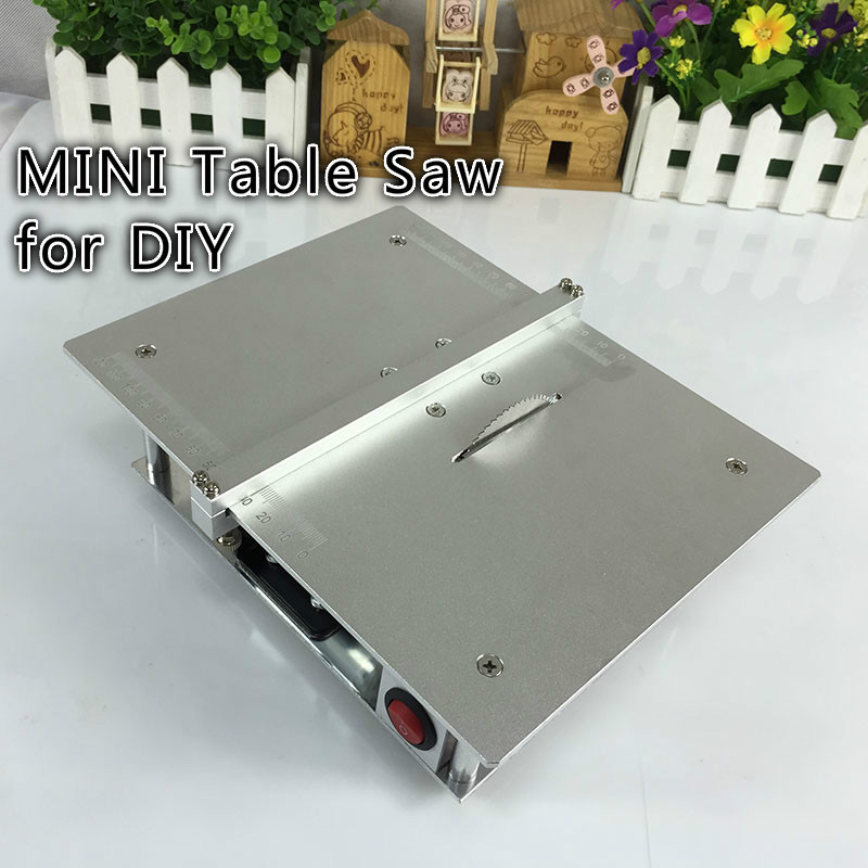 Micro Mini Table Saws Pcb Acrylic Cutting Machine Simple Metal Model Sawing Woodworking Saw Diy Tool<br><br>Aliexpress