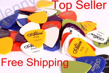 10 Pcs 0.58/0.71/0.81/0.96/1.2/1.5mm Acoustic Electric Guitar Picks Bulk free shipping