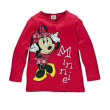 2015 Fashion Cartoon Baby Mouse Girls Boys Kids Long Sleeve Blouses Tops Shirt Hoodie