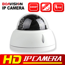 Buy HD 1080P 2MP Dome IP Camera POE Outdoor Vandal-proof Night Vision IR-CUT 4x Zoom 2.8-12mm Lens Dome Network IP Camera Security for $74.77 in AliExpress store