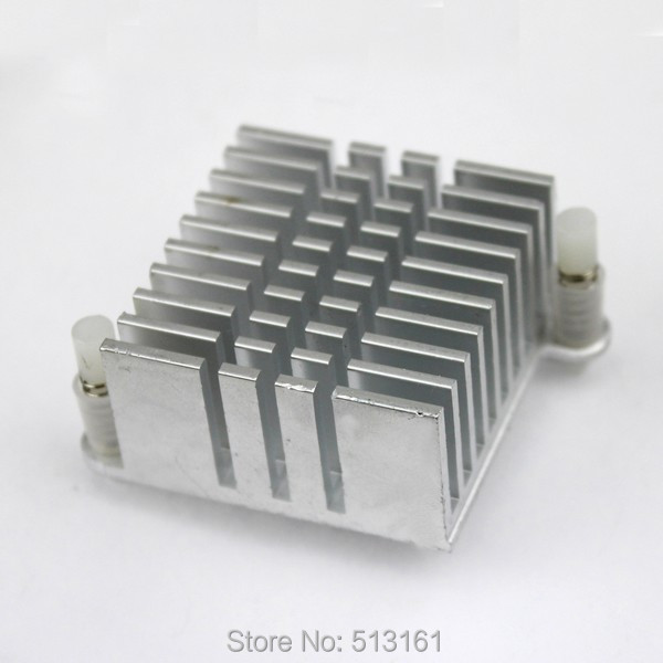 10PCS Northbridge Heat Sink 36*36*20mm Mini IC Cooling Cooler Aluminum  Heatsink