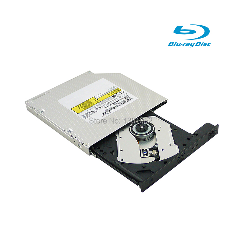 New 12.7mm Blu-Ray BD-RE Drive Graveur DVD-Laufwerk Computer Component for M521R SATA BD-R/RE Blu-ray Drive Tray Load(China (Mainland))