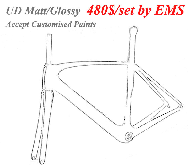 480$ EMS Free Shipping Carbon Veng Frame UD Matt/Glossy Carbon Road Frames 49/52/54/56cm Speed Frame Highway Bicycle(China (Mainland))