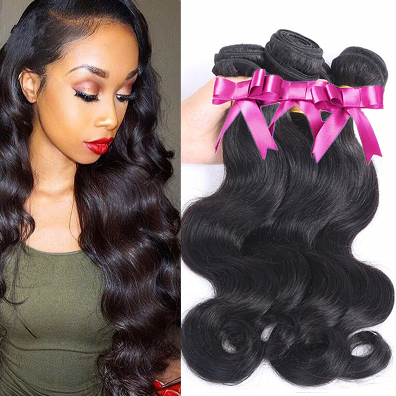 Cambodian Virgin Hair Body Wave Human Hair Weave 3 Bundles 100% Unprocessed Virgin Combodian Body Wave Hair Cheap Virgin Hair(China (Mainland))