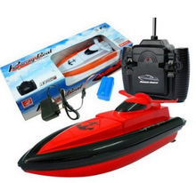 2.4G High Speed Wireless Remote Control Boats Electric Boats Waterproof Toys Red(China (Mainland))