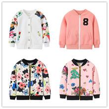VIDMID Children Clothing Baby Girls Cardigan sweater Coat Kids Jacket Baseball clothes Outwear Winter Autumn Girls Coat 1045 26
