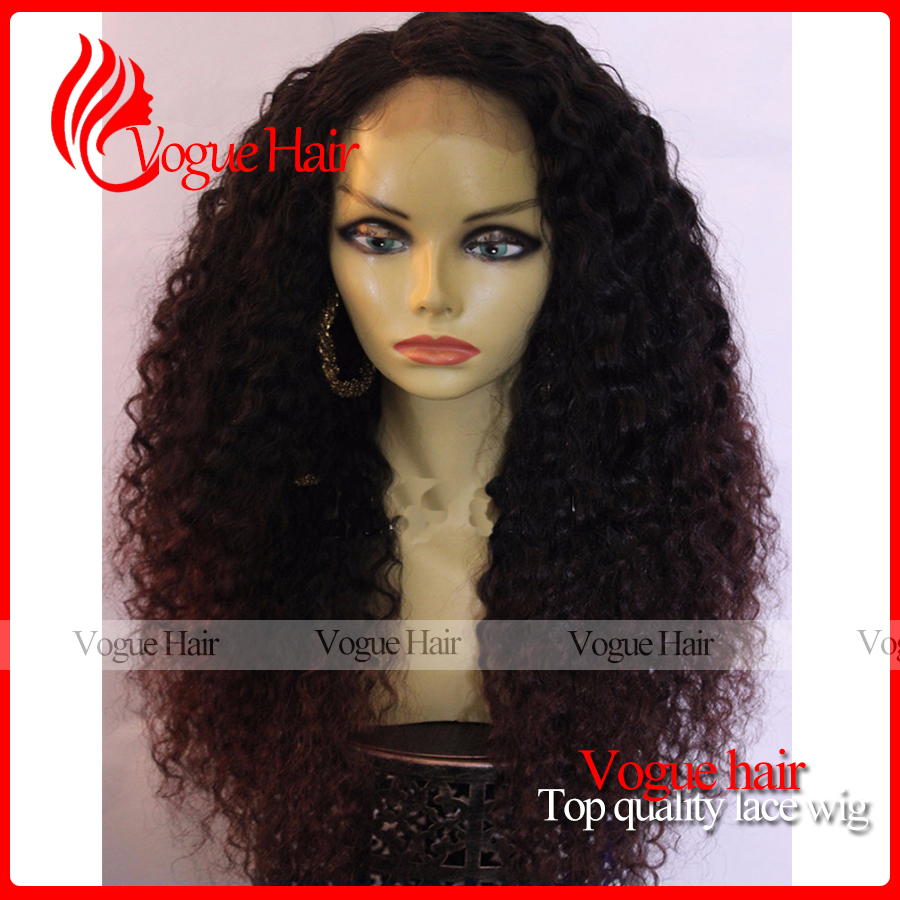 Long Kinky Curly 1b/#33 synthetic Lace Wig For Black Women High Quality braided synthetic lace front wig curly with baby hairs <br><br>Aliexpress