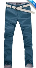 Spring and Autumn Men's Casual Straight Pants Trousers , 11 Color