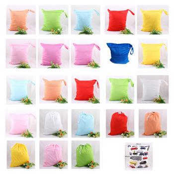 30 * 40 большой размер сплошной цвет одежда влажный сумки многоразовые водонепроницаемый ...