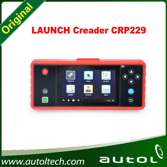 Original Launch X431 Creader CRP229 Android System OBD2 diagnostic tool Update Online CRP 229 Launch X431 Tools(China (Mainland))