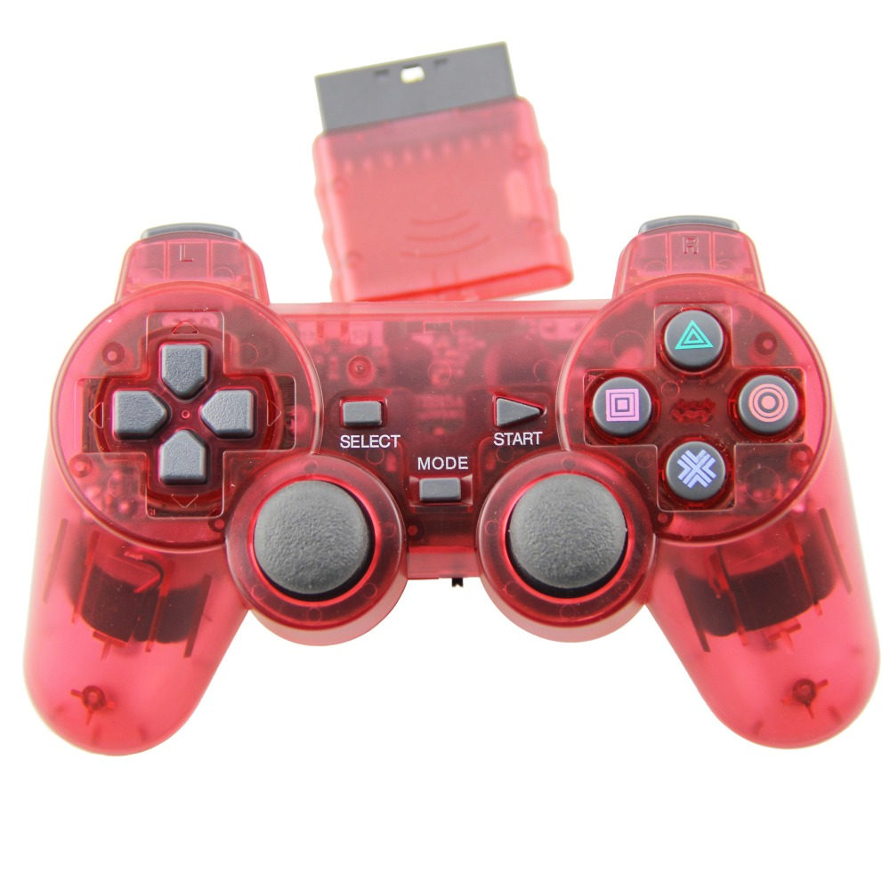 TPFOON PS2 Wireless Game Controller Double Vibration Joystick Gamepad Joypad For Playstation 2 PS2(China (Mainland))
