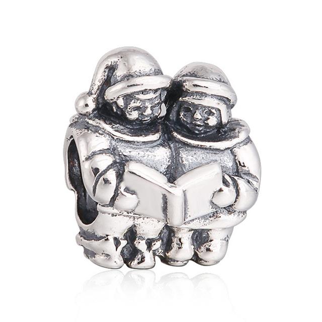 925 серебряные ювелирные изделия бусины воспевающие вера бусины Fit подвески пандора браслет DIY мода ювелирных изделий серебро 925