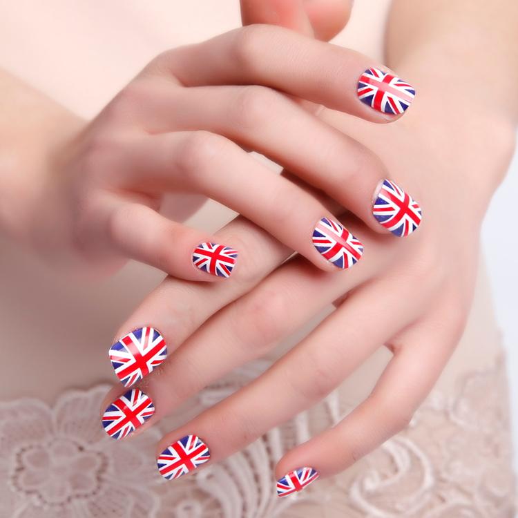 Irish Flag Nail Art Nailarts Ideas