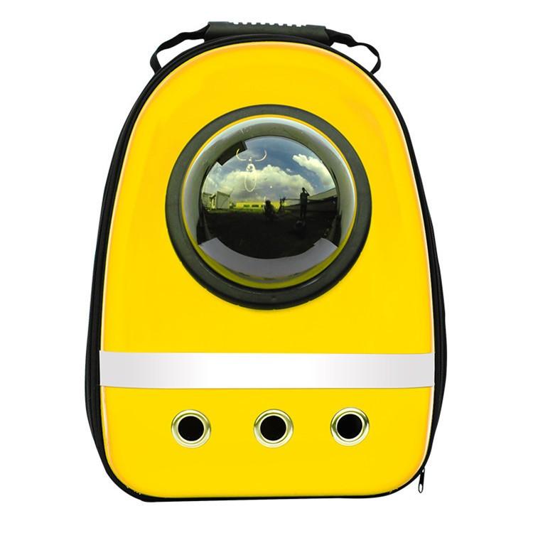 2016 hot sale Space Capsule Shaped Pet Carrier Breathable pet backpack pet <font><b>dog</b></font> outside Travel bag portable bag cat bags PA65