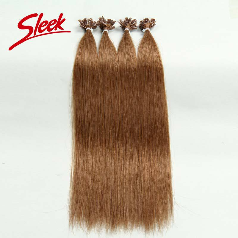 Sleek Human Hair 32# 10A U-Tip Fashion Pre-bonded Virgin Human Hair Best Brazilian Straight Hair 0.5g Each Strand Hair Extension<br><br>Aliexpress