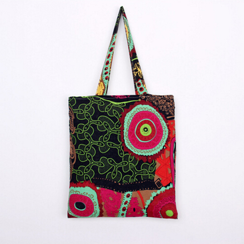 2016 Women Designer Handbags Canvas Vintage Canvas Shoulder Bags Women Shopper Bags Sac a Main Bolsos Lona Tricolor(China (Mainland))
